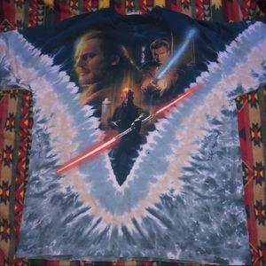Liquid Blue Shirts - 1999 Liquid Blue Vintage Star Wars episode I